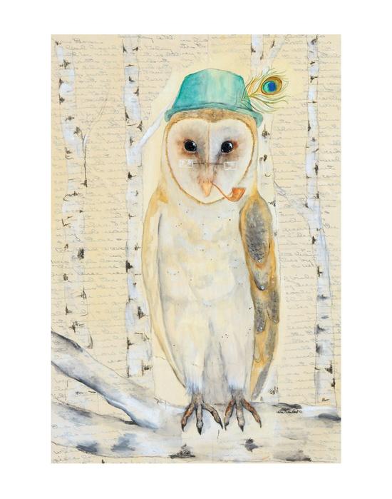 'Indubitably, Barn Owl' by Katie Crawford