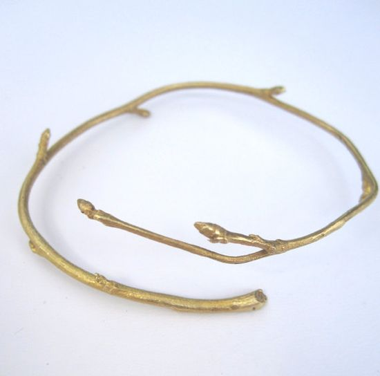 Beautiful branch bracelet!