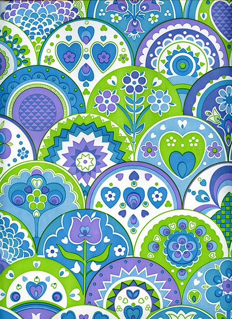 The vintage wallpaper of all vintage wallpapers by Katey Nicosia, via Flickr