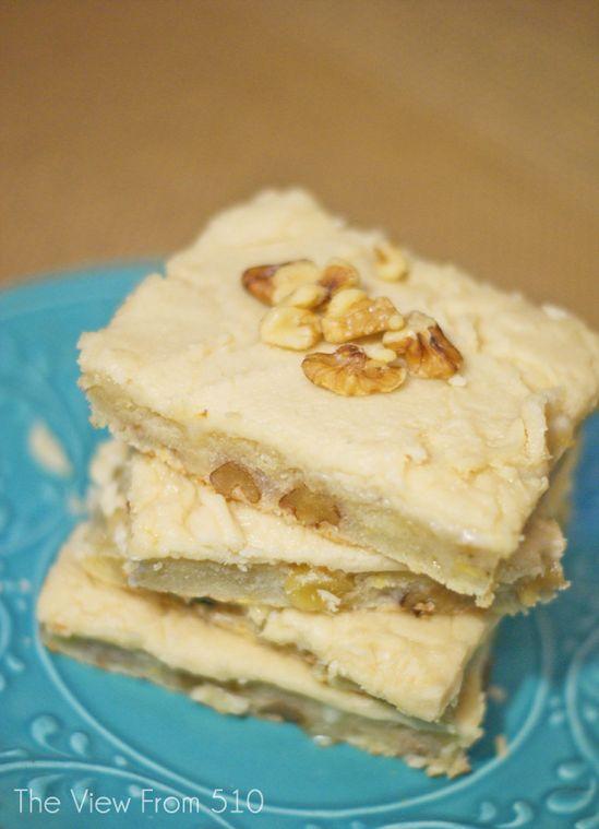 Banana Nut Brownies ...these look yummy!