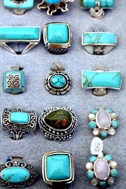 Turquoise And Silver...