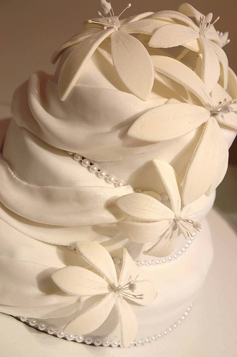 Lovely Wedding Cake    #WeddingCakes #Weddings