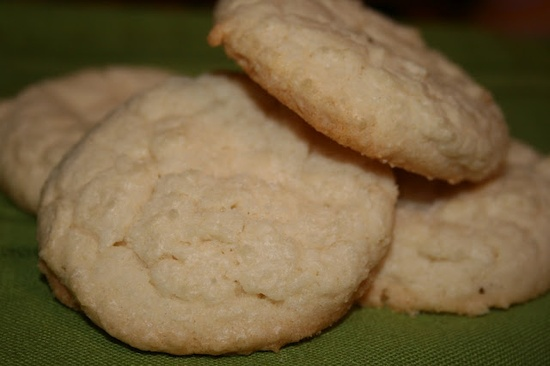 Old Fashioned Sugar Cookies - A tender, soft and chewy basic, old fashioned sugar cookie recipe.
