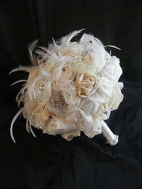 Vintage Brooch Bouquet.