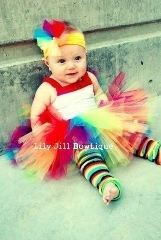 Every little girl should wear a tutu for her first birthday