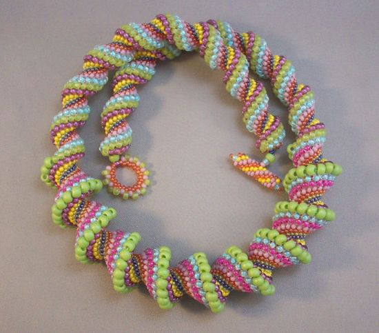 "Voting for April Challenge ""Seed Beads Only"""