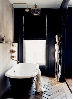 Bathroom, black