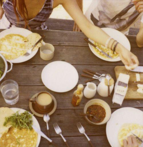 amanda marsalis. sharing a meal. ?