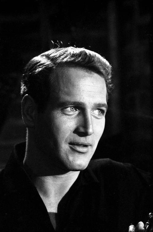 Paul Newman..oh those blue eyes !