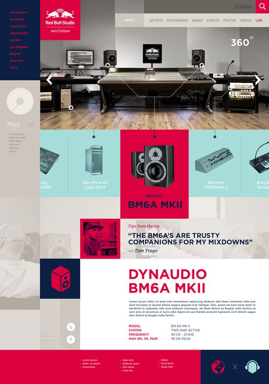 Red Bull Studios on Behance