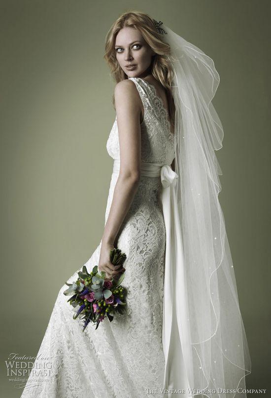 The Vintage Wedding Dress Company.