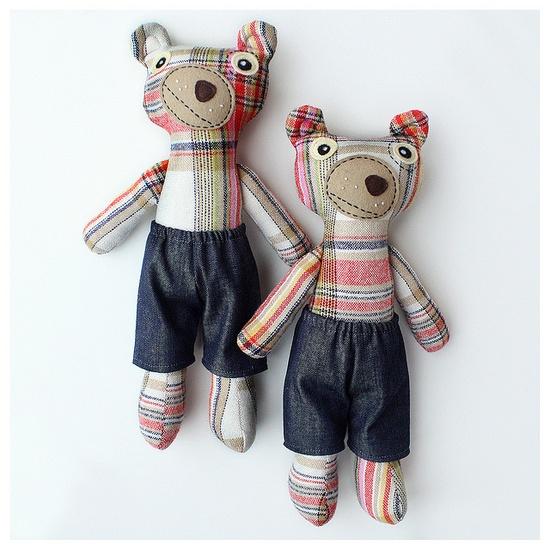 what cute stuffed animals!