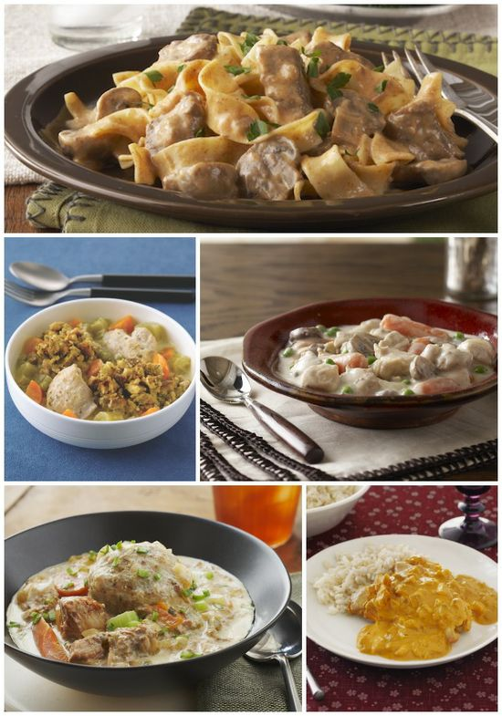 Slow-Cooker Recipes by Philly Canada: Slow-Cooker Beef Stroganoff, Slow-Cooked Chicken & Dumplings, Slow-Cooker Pantry Chicken Stew, Slow-Cooked Pork Stew with Dumplings, Slow-Cooker Chicken Curry