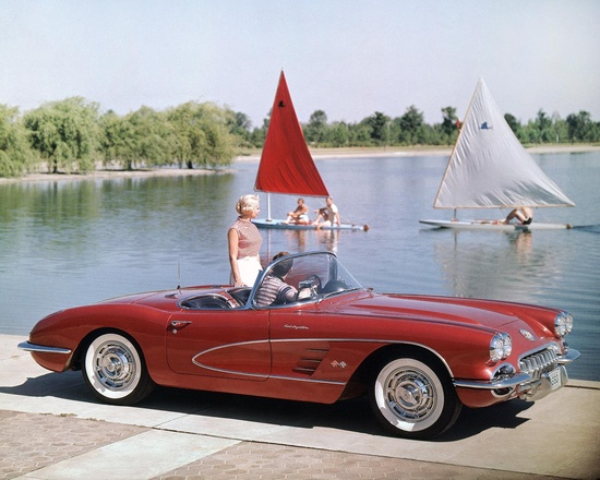 Corvette celebrates 60 years as a performance icon