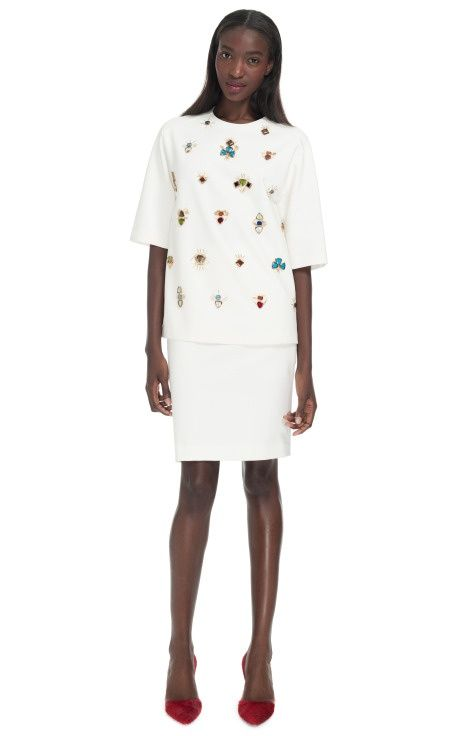 """Phillip Lim """"All Eyes On You"""" embellished #my summer clothes #tlc waterfalls #summer outfits"""