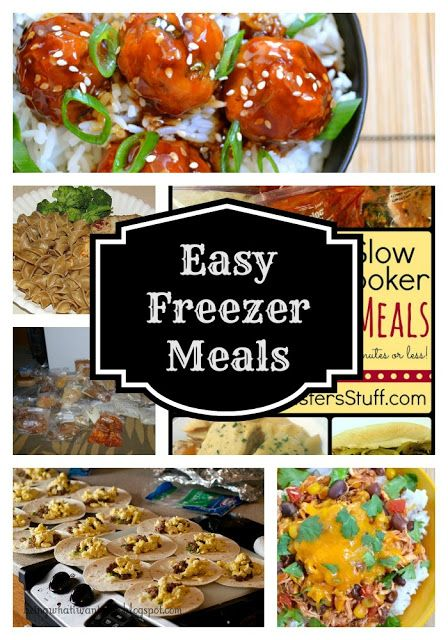 Anyone else prepping this weekend? Easy Freezer Meals Round Up #prepday