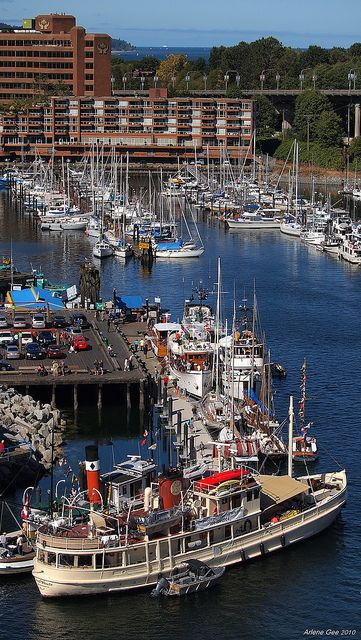 ? False Creek Boats, Vancouver, Canada