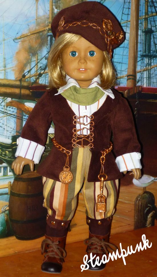 Steampunk Clothes for American Girl Dolls by CsbsewsDollClothes, $150.00