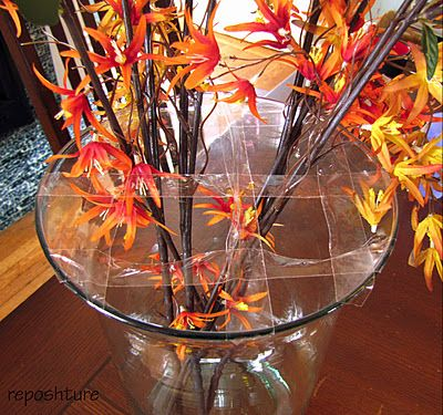 Reposhture Studio: Easy Vase Flower Arranging