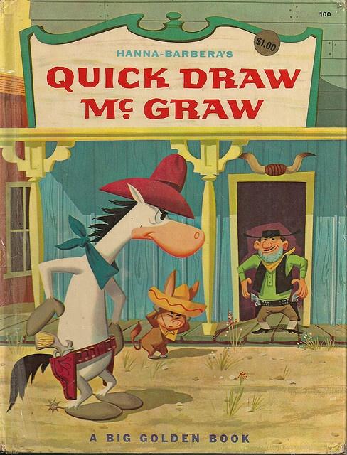 Quick Draw McGraw Big Golden Book