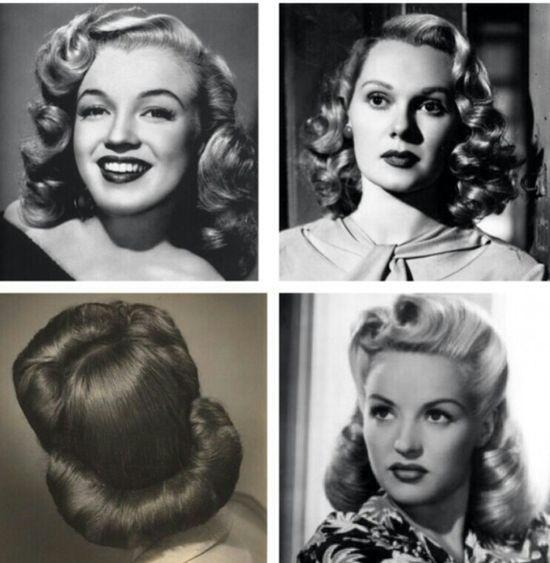 Cute vintage hair styles