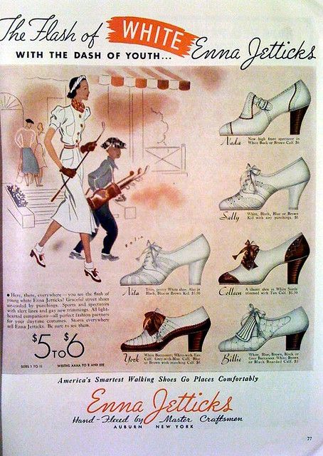 Stylish 1930s heels. #vintage #shoes #fashion #1930s #ad