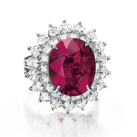 Cartier ruby diamond