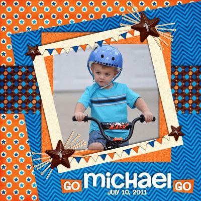 Go Michael Go - Scrapbook.com