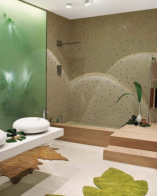 How to Have a Nature Inspired Bath #stepbystep