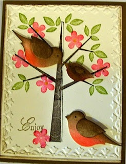Robins made with bird builder punch
