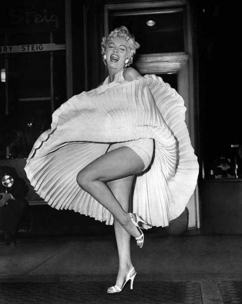 Marilyn Monroe's famous photo