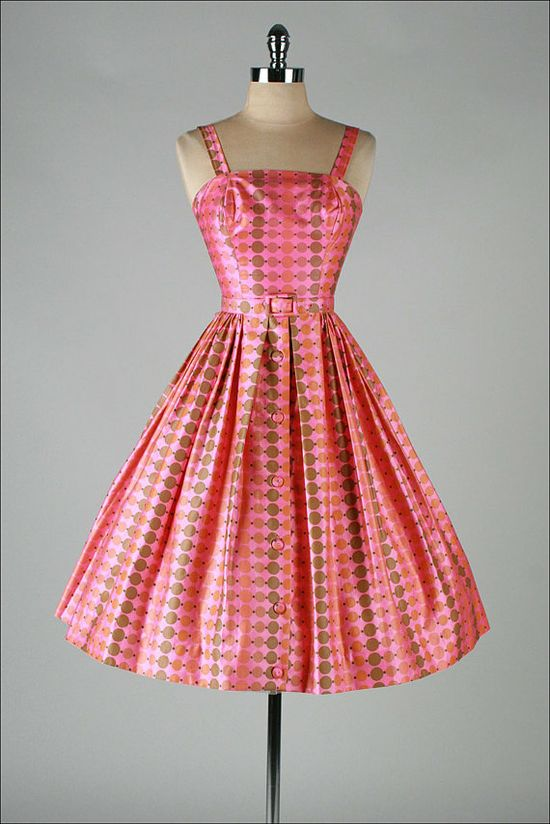 GIGI ORIGINAL vintage 1950s dress