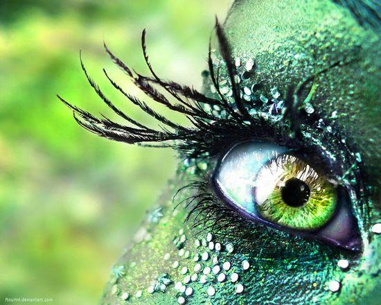 Crow Eye again... just green..  Lol!