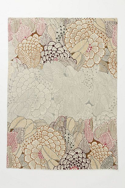 Mutabilis Rug #anthropologie  Do any of my dear friends have a discount here?