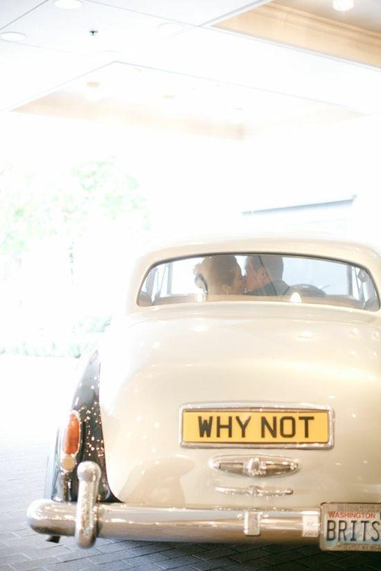 Why not? #wedding #ido #inspiration