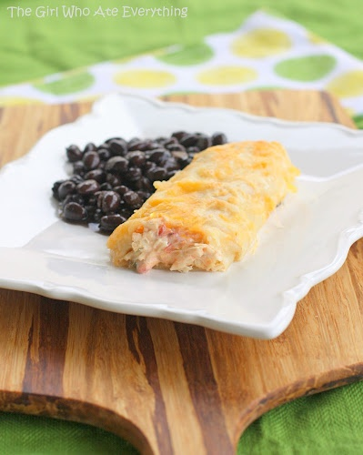 Creamy and easy Chicken Enchiladas