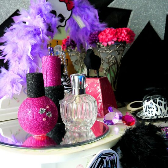 Gorgeous decorations at a Monster High girl birthday party!   See more party ideas at CatchMyParty.com!  #monsterhigh #partyideas