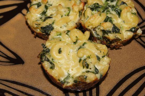 Mac and cheese cupcakes. I love the savory cupcake thing!!!