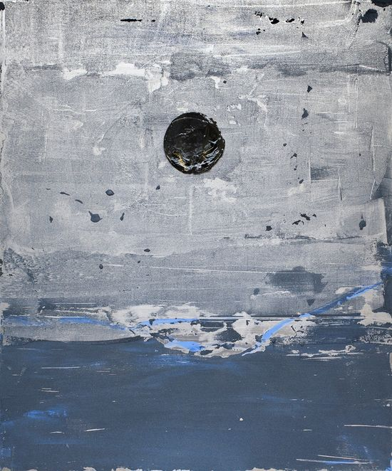 "Saatchi Online Artist: Marc-Antoine Goulard; Metal, 2010, Mixed Media """" Soleil noir """""
