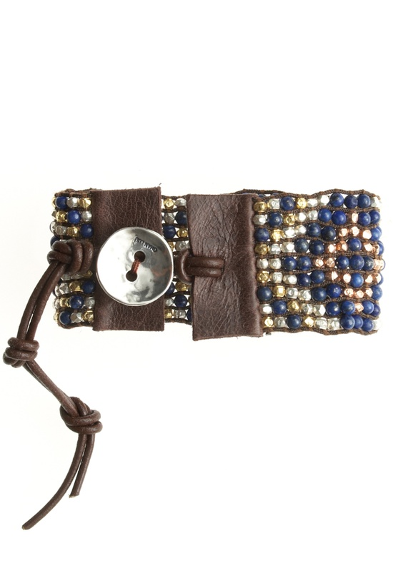 Beaded jewelry - love the blue