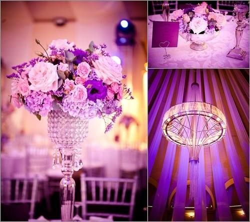 Romantic wedding hall.