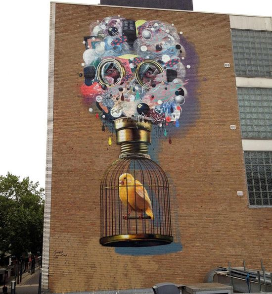 Heerlen, Street Art City in The Netherlands (HRLN Street Art)