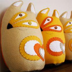 Handmade plushies by Wilmarie Viljoen