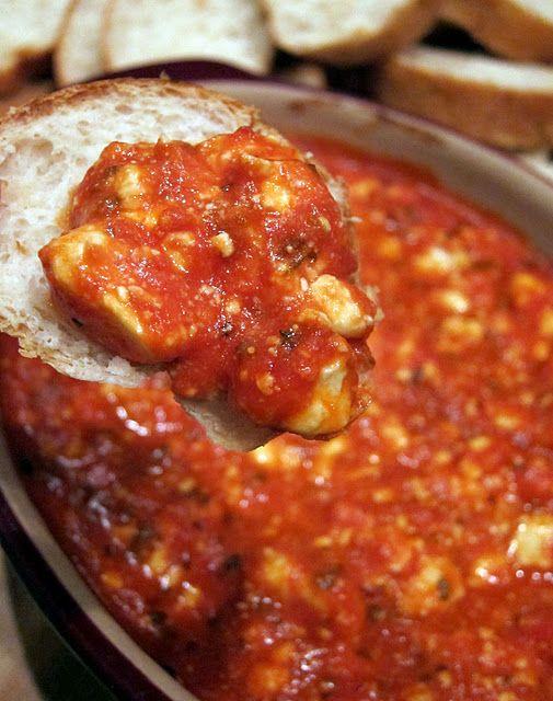 baked feta dip....love feta cheese!!