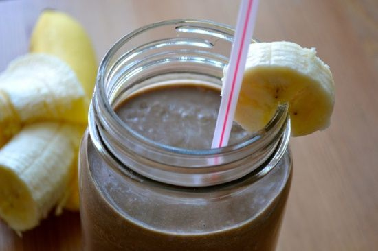 Chocolate and Banana Smoothie from #better health solutions #organic health #health care #better health naturally
