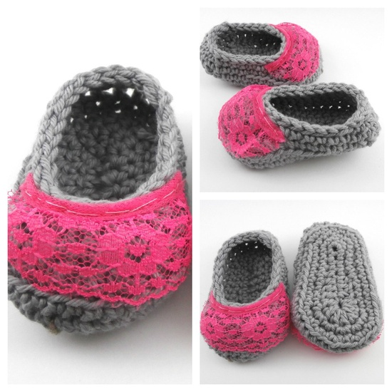 baby girl clothes, baby girl booties, newborn booties, baby shower gift. $16.00, via Etsy.