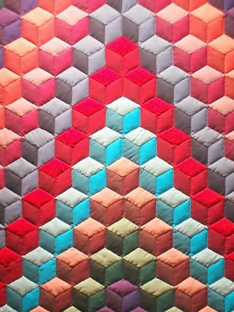 gorgeous handmade quilt