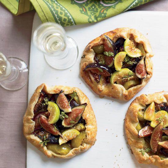 Honeyed Fig Crostatas // More Fantastic Fig Recipes: www.foodandwine.c... #foodandwine