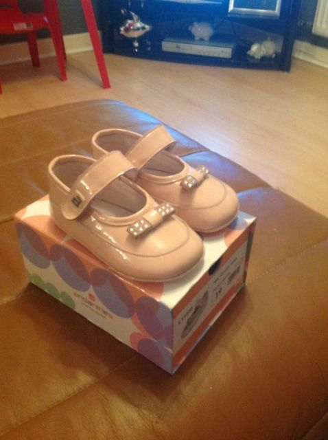 New Andanines baby girls shoes size EU19 / £1.25