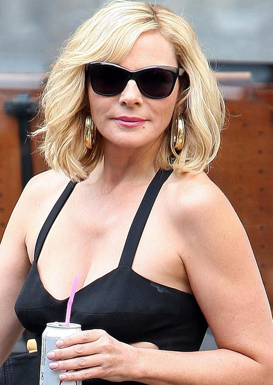Kim Cattrall from Sex and the City